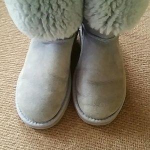9aab707cacf Lite blue tall Ugg boots